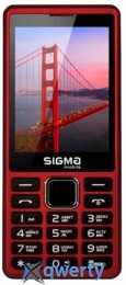 Sigma mobile X-style 36 Point Dual Sim Red (X-Style 36 Point Red)