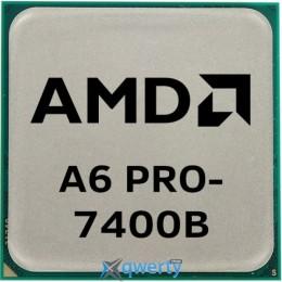 AMD A6 PRO-7400B 3.5GHz FM2+ Tray (AD740BYBI23JA)