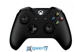 Microsoft Xbox One Controller Black + Wireless Adapter for Windows 10 (4N7-00003)