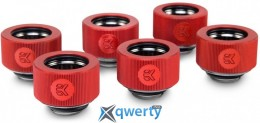 EKWB EK-HDC Fitting 16 мм - Red 6 шт (3830046992659)