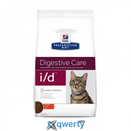 Hills (Хилс) Prescription Diet Feline I/D 1,5 кг. (при желудочно-кишечных заболеваниях) (4663)