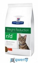 Hills (Хилс) Prescription Diet Feline R/D 5 кг. (для снижения веса) (4318)