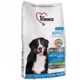 1st Choice Adult Medium&Large Chicken (Фест Чойс взрослый средние крупные курица) корм для взрослых собак средних и крупных пород, 5 кг. (ФЧСВСК5ПЭ)