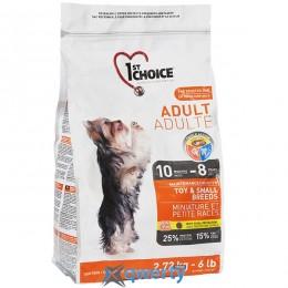 1st Choice Adult Toy&Small Chicken (Фест Чойс взрослый мини курица) сухой супер премиум корм для взрослых собак мини и малых пород, 5 кг. (ФЧСВММ5ПЭ)