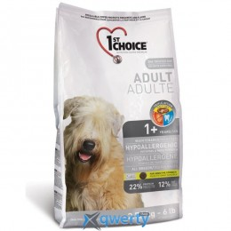 1st Choice Hypoallergenic Adult (Фест Чойс гипоаллергенный с уткой картошкой) сухой супер премиум корм для собак, 5 кг. (ФЧСВУК5ПЭ)