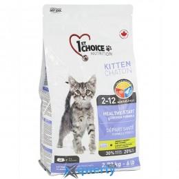 1st Choice Kitten Healthy Start ФЕСТ ЧОЙС КОТЕНОК сухой супер премиум корм для котят (ФЧККН5В) купить в Одессе
