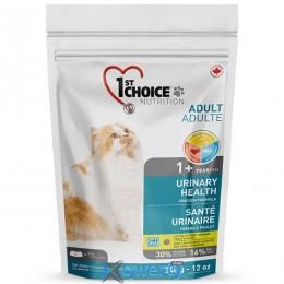 1st Choice Urinary Health (Фест Чойс уринари хелс) корм для котов склонных к МБК (мочекаменная болезнь), 0.34 кг. (ФЧКВУР340) купить в Одессе