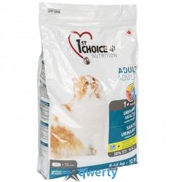 1st Choice Urinary Health (Фест Чойс уринари хелс) корм для котов склонных к МБК (мочекаменная болезнь), 5.44 кг. (ФЧКВУР5_44) купить в Одессе