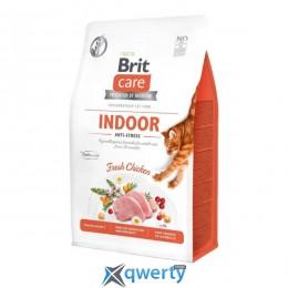 Brit Care Cat GF Indoor Anti-stress 7 кг для живущих в помещении (курица) (1111162366)