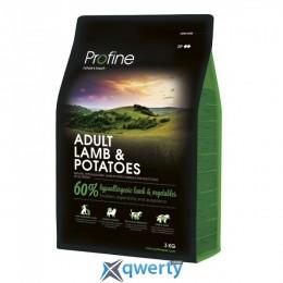 Profine Adult Lamb 3 кг для взрослых собак всех пород (ягненок) (1111145687)