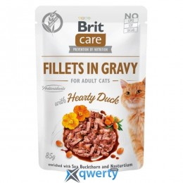 Brit Care Cat pouch 85g для кошек (филе утки в соусе) (1111162662)