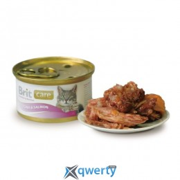 Brit Care Cat Tuna & Salmon 80 г для кошек (тунец и лосось) (1111142273)