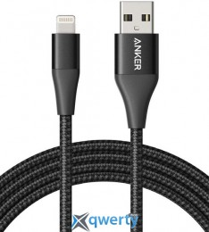 Anker Powerline+ II Lightning - 0.9м Black