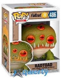 Funko POP! Vinyl: Games: Fallout 76: Radtoad (FUN2076)