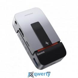 USB-хаб Baseus Armor Age Type-C Bracket Multifunctional HUB Adapter Space Grey (CAHUB-AJ0G) купить в Одессе