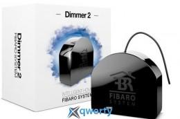 Fibaro Умное реле Dimmer 2, Z-Wave, 230V, макс. 1.1А, 250Вт, черный (FGD-212)