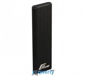 Frime для M.2 NGFF SATA Metal USB 3.1 (TYPE-C) up to 10Gb/s Black (FHE210.M2U31)