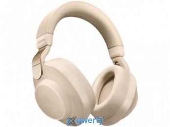 Jabra Elite 85h Bluetooth Headset Gold Beige