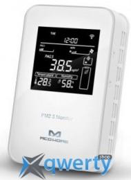 MCO Home Умный датчик 3в1: PM2.5, темп., влажн., Z-Wave, 12V DC, белый (MH10-PM2.5-WD)