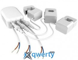 Aeotec Умный контроллер потребления энергии ZW095-3P4 60A, Z-Wave, AC 230V, 3 фазы 60A, белый (ZW095-3P460A)