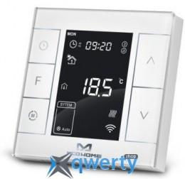 MCO Home Умный термостат для водяного теплого пола/водонагревателя, Z-Wave, 230V АС, 10А, белый (MH7H-WH-WHITE)