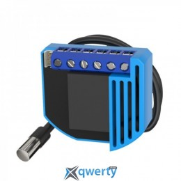 Qubino Умный термостат on/off thermostat 2, для электр. теплого пола, Z-Wave, 230V АС/30V DC, 10А (ZMNKID1)