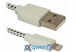 Defender ACH01-03T USB(AM)-Lighting 1m, пакет (87471)
