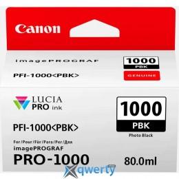 CANON PFI-1000 PBK PHOTO BLACK (0546C001AA)