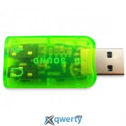 DYNAMODE USB-SOUNDCARD2.0 Green