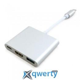 EXTRADIGITAL USB Type-C to HDMI/USB 3.0/Type-C (0.15m) (KBH1691)