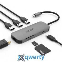 Acer 7in1 Type C dongle 1 x HDMI, 3 x USB3.2, 1 x SD/TF, 1 x PD (HP.DSCAB.008)