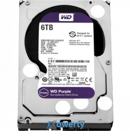 Western Digital Purple 6TB 5640rpm 128MB WD62PURZ 3.5 SATA III