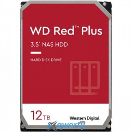 Western Digital Red Plus 12TB 7200rpm 256МB WD120EFBX 3.5 SATA III