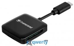 TRANSCEND USB 3.2 GEN 1 TYPE-C SD/MICROSD BLACK (TS-RDC3)