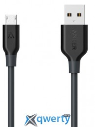 ANKER POWERLINE MICRO USB 1.8M SPACE GRAY (A8133H11/A8133G11)