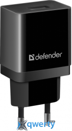 DEFENDER EPA-10 BLACK, 1XUSB, 5V/2.1A, PACKAGE (83572) купить в Одессе