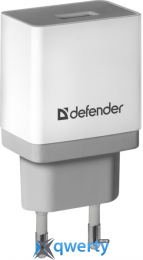 DEFENDER UPA-21 WHITE, 1XUSB, 5V/2.1A (83571)