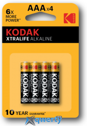 KODAK XTRALIFE LR03 1X4 ШТ. (30951990)
