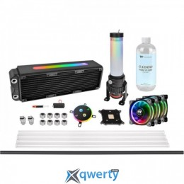 THERMALTAKE Pacific M360 Plus D5 Hard Tube Water Cooling Kit (CL-W218-CU00SW-A) купить в Одессе