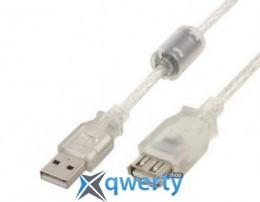 Cablexpert USB 2.0 AM - AF 0.75 м Феррит (CCF-USB2-AMAF-TR-0.75M)