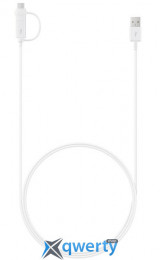 SAMSUNG COMBO (TYPE-C & MICROUSB) 1.5M WHITE (EP-DG930DWEGRU)