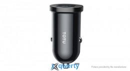 TOTU DCCD-017 Dual USB Car Charger Power Adapter