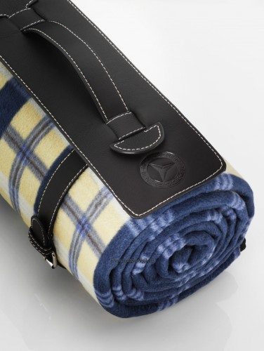 Mercedes benz check picnic blanket for Mercedes benz blanket