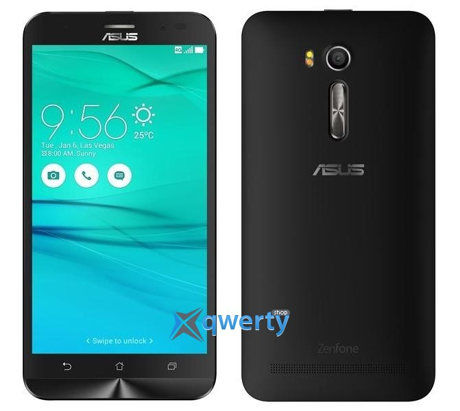 ASUS ZenFone Go (ZB552KL) (Black) (90AX0071-M00720)