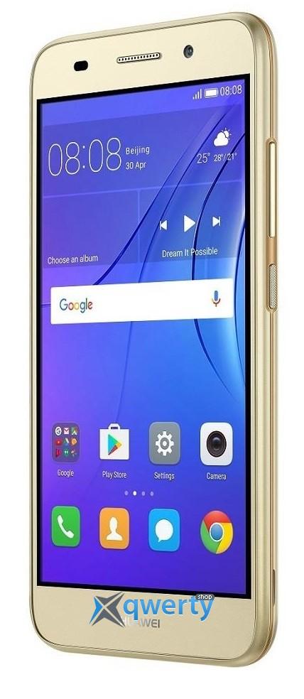 Huawei Y3 2017 (CRO-U00) DUAL SIM (Gold (51050NCY))