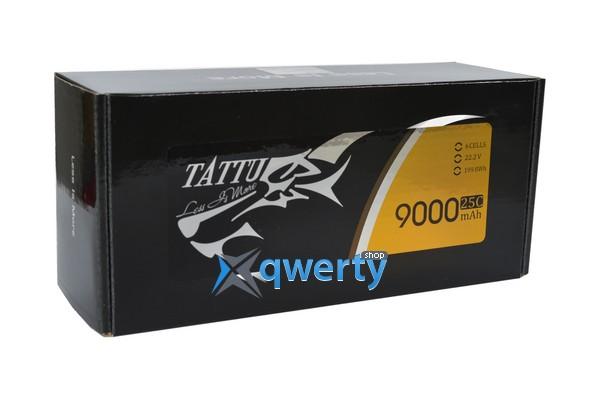 AE Gens Ace TATTU Li-Po 22.2V 9000 mAh 6S1P 25C Soft Case