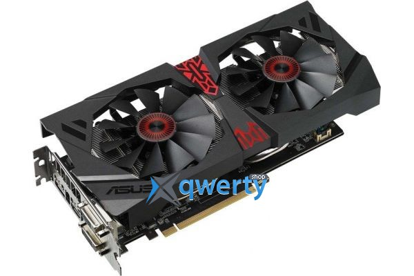 Asus PCI-Ex Radeon R9 380X Strix 4GB GDDR5 (STRIX-R9380X-OC4G-GAMING)