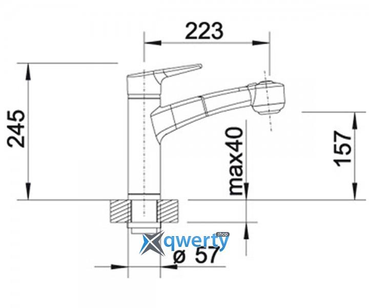 Blanco MERKUR-S II (513711) хром