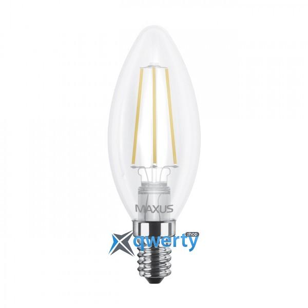 C37, 4W, мягкий свет, E14 (1-LED-537)