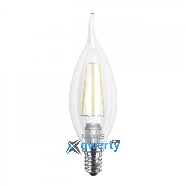 C37 TL, 4W, мягкий свет, E14 (1-LED-539)